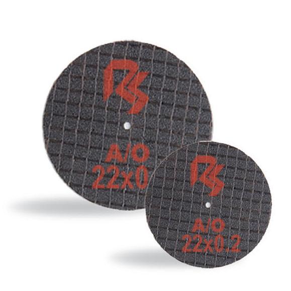 Metal discs with aluminium oxide